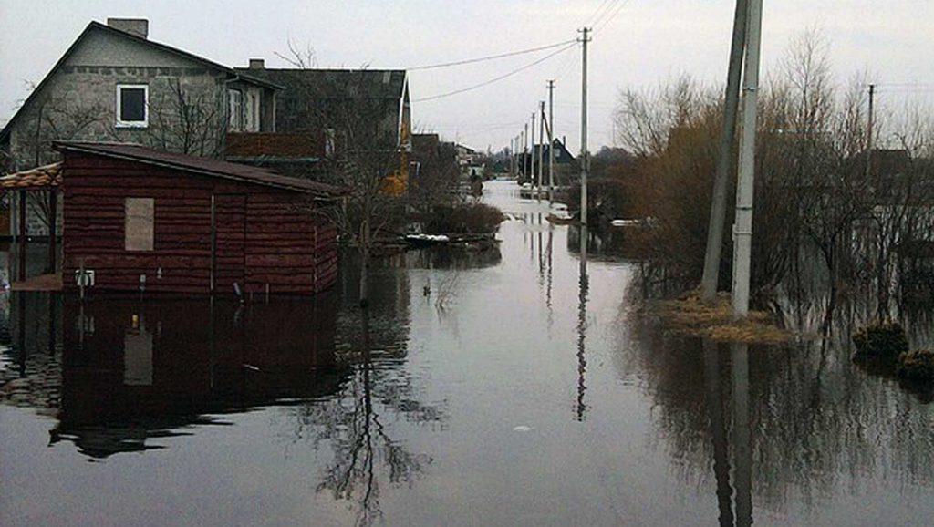 Gatvė (potvynis, 2010 kovas)