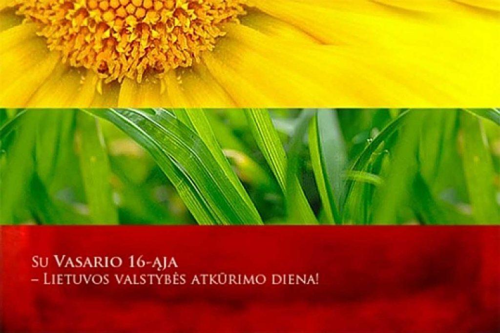 Vasario 16-oji – Valstybės atkūrimo diena