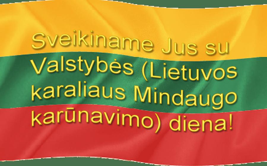Sveikinimas su Valstybės Diena