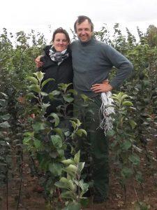 Dr. Malinauskas su žmona